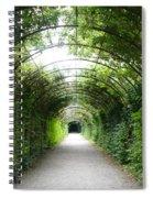 Salzburg Garden Arbor Spiral Notebook