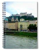 Salzburg Over The Danube Spiral Notebook