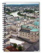 Salzburg Panoramic Spiral Notebook