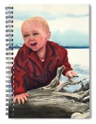 Sam And The Log Spiral Notebook