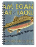 Sam Egan's Bait And Tackle Spiral Notebook