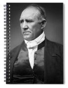 Sam Houston  1849 Spiral Notebook
