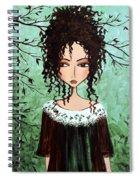 Samantha's Chocolate Tree Spiral Notebook
