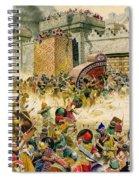 Samaria Falling To The Assyrians Spiral Notebook