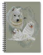Samoyed Revamp Spiral Notebook