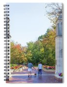 Sample Gates At University Of Indiana Spiral Notebook
