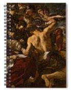 Samson Captured By The Philistines Spiral Notebook