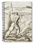 Samson Slaying The Philistines With The Jawbone Of An Ass Spiral Notebook