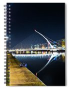 Samuel Beckett Bridge 2 Spiral Notebook