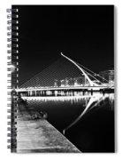 Samuel Beckett Bridge 2 Bw Spiral Notebook