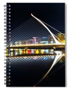 Samuel Beckett Bridge 3 Spiral Notebook