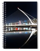 Samuel Beckett Bridge 3 V2 Spiral Notebook
