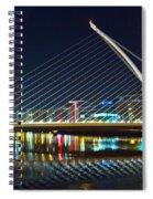 Samuel Beckett Bridge 4 Spiral Notebook
