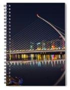 Samuel Beckett Bridge  Spiral Notebook