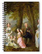 Samuel Richardson Seated With His Family Spiral Notebook