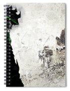 Samurai Spiral Notebook