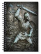 Samurai Warrior Spiral Notebook