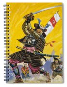 Samurai Warriors Spiral Notebook