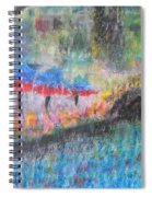 San Antonio By The River I Spiral Notebook