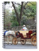 San Antonio Carriage Spiral Notebook