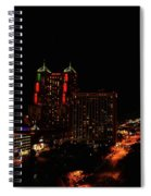 San Antonio Night Spiral Notebook