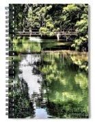 San Antonio River Scenic Spiral Notebook