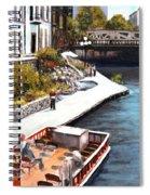 San Antonio River Walk Spiral Notebook