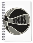 San Antonio Spurs Retro Shirt Spiral Notebook