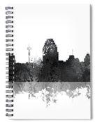 San Antonio Texas Skyline Spiral Notebook
