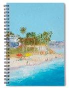 San Clemente Beach Spiral Notebook