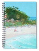 San Clemente Beach Panorama Spiral Notebook