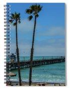 San Clemente Peir Spiral Notebook