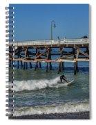 San Clemente Surfing Spiral Notebook