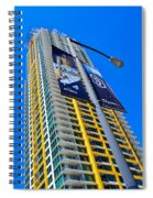 San Diego Apartment Tower Spiral Notebook