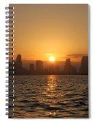 San Diego Bay Sunrise Spiral Notebook