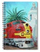San Diegan On Liberty Spiral Notebook