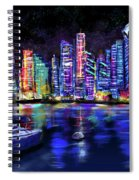San Diego Harbor Spiral Notebook