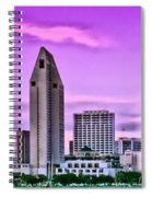San Diego Panorama Spiral Notebook