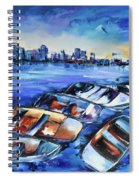 San Diego Skyline Spiral Notebook