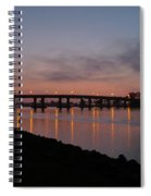 San Diego Sunset 1 Spiral Notebook