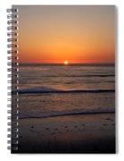San Eljio Sunset Ca Spiral Notebook