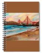 San Francisc Bridge Spiral Notebook