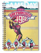San Francisco 49ers Vintage Program Spiral Notebook