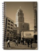 San Francisco Architecture, 2007 Sepia Spiral Notebook