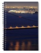 San Francisco At Night Spiral Notebook