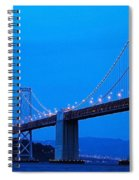 San Francisco Bay Bridge Spiral Notebook