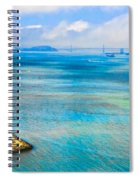 San Francisco Bay Spiral Notebook