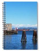 San Francisco Bay Trail View Spiral Notebook