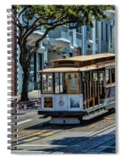 San Francisco, Cable Cars -2 Spiral Notebook