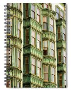 San Francisco Color Spiral Notebook